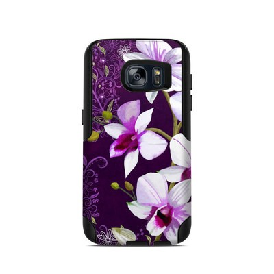 OtterBox Commuter Galaxy S7 Case Skin - Violet Worlds