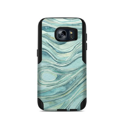 OtterBox Commuter Galaxy S7 Case Skin - Waves