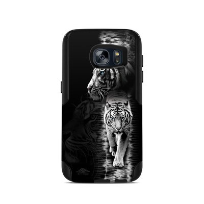 OtterBox Commuter Galaxy S7 Case Skin - White Tiger