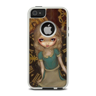 OtterBox Commuter iPhone 5 Case Skin - Alice Clockwork