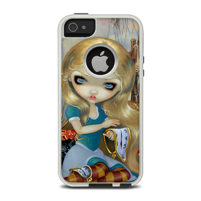OtterBox Commuter iPhone 5 Case Skin - Alice in a Dali Dream