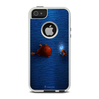 OtterBox Commuter iPhone 5 Case Skin - Angler Fish