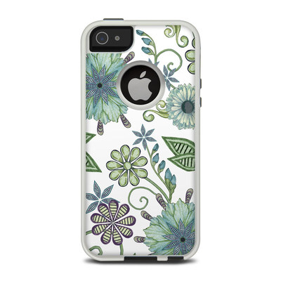 OtterBox Commuter iPhone 5 Case Skin - Antique Nouveau