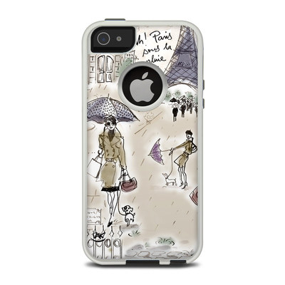 OtterBox Commuter iPhone 5 Case Skin - Ah Paris