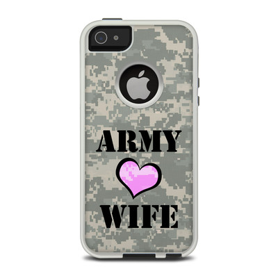 OtterBox Commuter iPhone 5 Case Skin - Army Wife