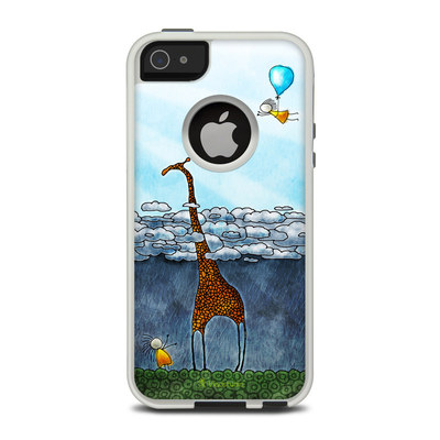 OtterBox Commuter iPhone 5 Case Skin - Above The Clouds