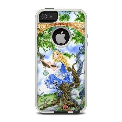 OtterBox Commuter iPhone 5 Case Skin - Alice's Tea Time