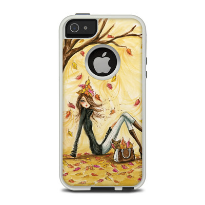 OtterBox Commuter iPhone 5 Case Skin - Autumn Leaves