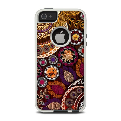 OtterBox Commuter iPhone 5 Case Skin - Autumn Mehndi