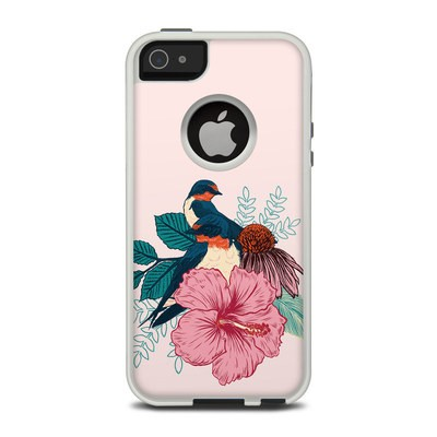 OtterBox Commuter iPhone 5 Case Skin - Barn Swallows