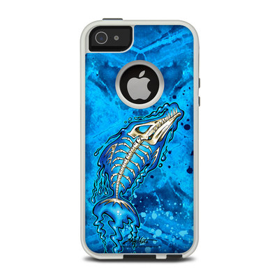OtterBox Commuter iPhone 5 Case Skin - Barracuda Bones