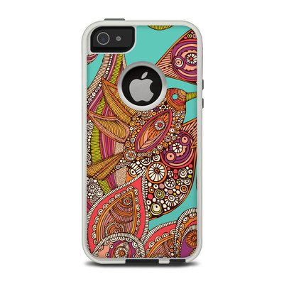 OtterBox Commuter iPhone 5 Case Skin - Bird In Paradise