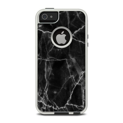OtterBox Commuter iPhone 5 Case Skin - Black Marble