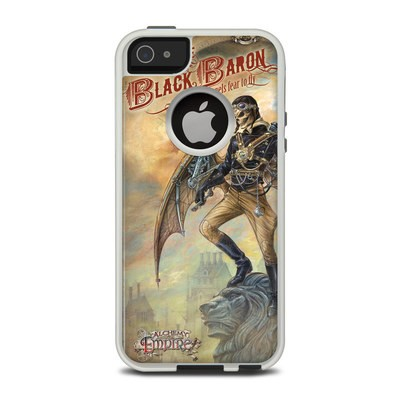 OtterBox Commuter iPhone 5 Case Skin - The Black Baron