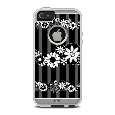 OtterBox Commuter iPhone 5 Case Skin - Black Retro