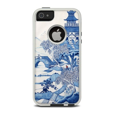 OtterBox Commuter iPhone 5 Case Skin - Blue Willow