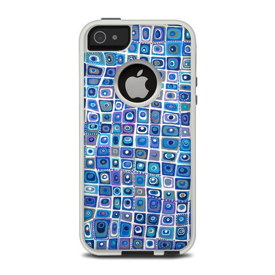 OtterBox Commuter iPhone 5 Case Skin - Blue Monday