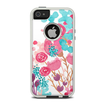 OtterBox Commuter iPhone 5 Case Skin - Blush Blossoms