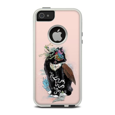 OtterBox Commuter iPhone 5 Case Skin - Black Magic