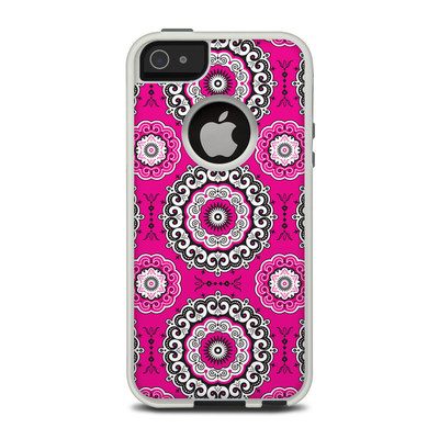 OtterBox Commuter iPhone 5 Case Skin - Boho Girl Medallions
