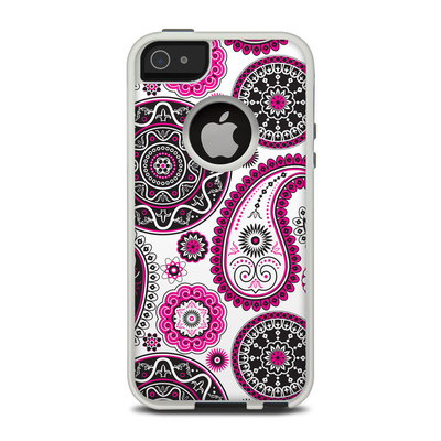 OtterBox Commuter iPhone 5 Case Skin - Boho Girl Paisley