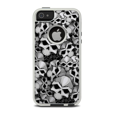 OtterBox Commuter iPhone 5 Case Skin - Bones