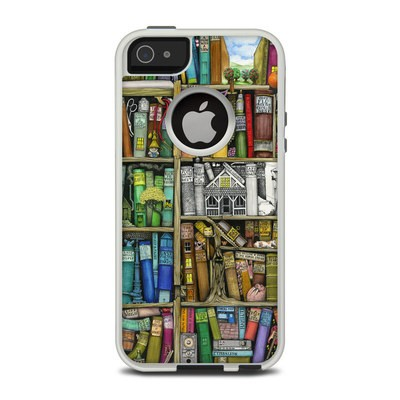 OtterBox Commuter iPhone 5 Case Skin - Bookshelf