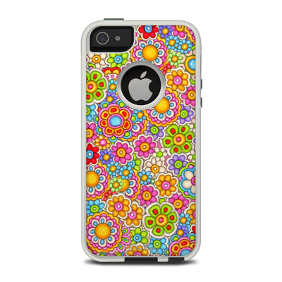 OtterBox Commuter iPhone 5 Case Skin - Bright Ditzy