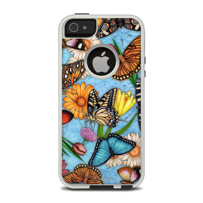 OtterBox Commuter iPhone 5 Case Skin - Butterfly Land