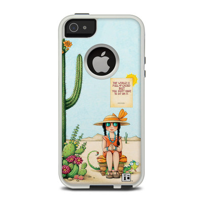 OtterBox Commuter iPhone 5 Case Skin - Cactus