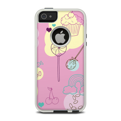 OtterBox Commuter iPhone 5 Case Skin - Pink Candy