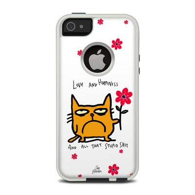 OtterBox Commuter iPhone 5 Case Skin - Catwad Happy