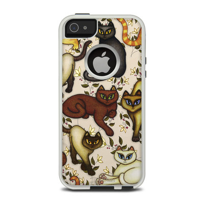 OtterBox Commuter iPhone 5 Case Skin - Cats