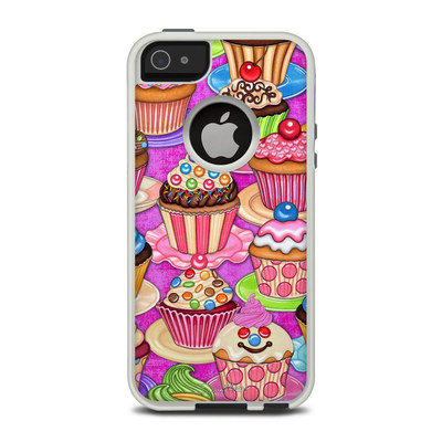 OtterBox Commuter iPhone 5 Case Skin - Cupcake