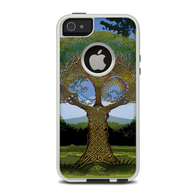 OtterBox Commuter iPhone 5 Case Skin - Celtic Tree