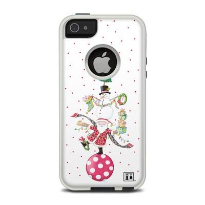 OtterBox Commuter iPhone 5 Case Skin - Christmas Circus
