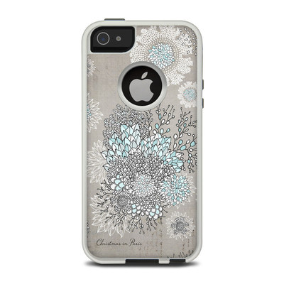 OtterBox Commuter iPhone 5 Case Skin - Christmas In Paris