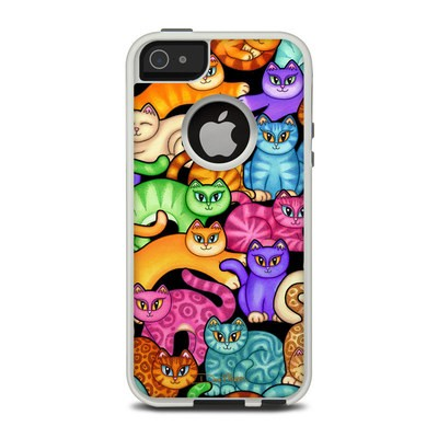 OtterBox Commuter iPhone 5 Case Skin - Colorful Kittens