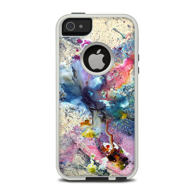 OtterBox Commuter iPhone 5 Case Skin - Cosmic Flower