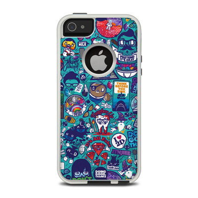 OtterBox Commuter iPhone 5 Case Skin - Cosmic Ray