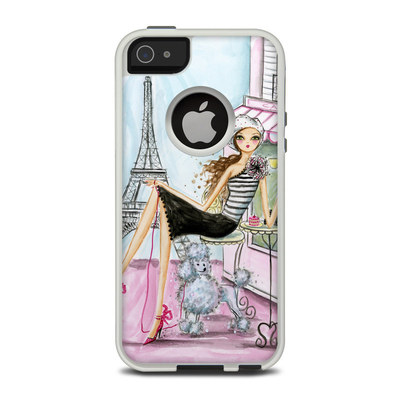OtterBox Commuter iPhone 5 Case Skin - Cafe Paris