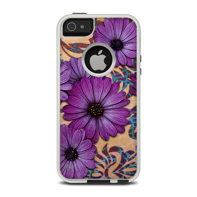 OtterBox Commuter iPhone 5 Case Skin - Daisy Damask