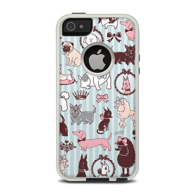 OtterBox Commuter iPhone 5 Case Skin - Doggy Boudoir