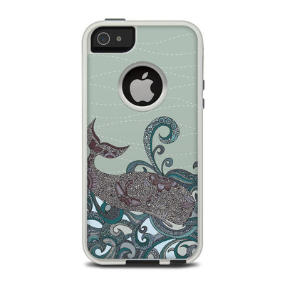 OtterBox Commuter iPhone 5 Case Skin - Deep Blue Me