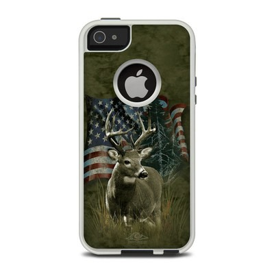 OtterBox Commuter iPhone 5 Case Skin - Deer Flag