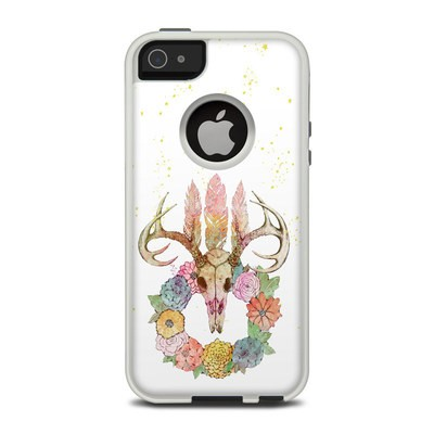 OtterBox Commuter iPhone 5 Case Skin - Deer Skull