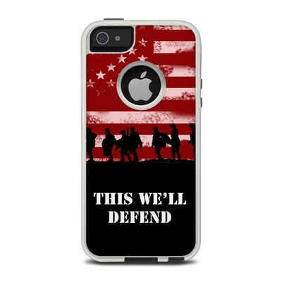 OtterBox Commuter iPhone 5 Case Skin - Defend