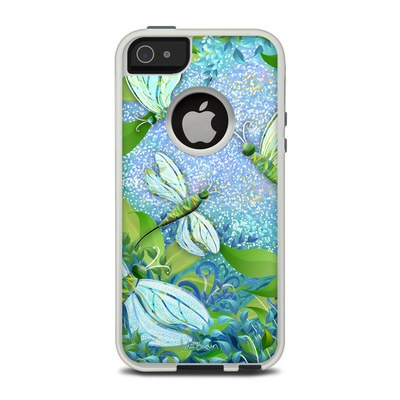 OtterBox Commuter iPhone 5 Case Skin - Dragonfly Fantasy