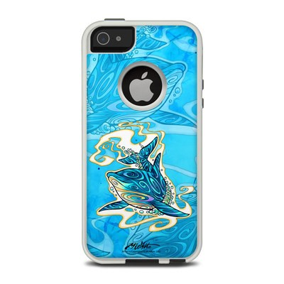 OtterBox Commuter iPhone 5 Case Skin - Dolphin Daydream