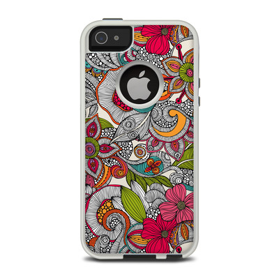 OtterBox Commuter iPhone 5 Case Skin - Doodles Color
